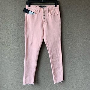 Veronica Beard Debbie 10 inches exposed fly jeans